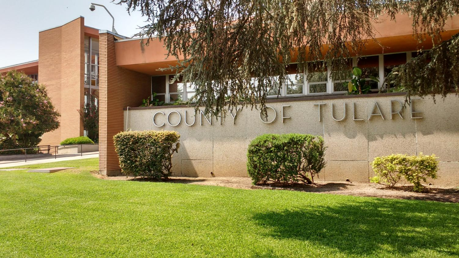 Tulare County Superior Court, location of Josiah Banks' forthcoming preliminary hearing.