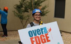 Over the edge for a good cause