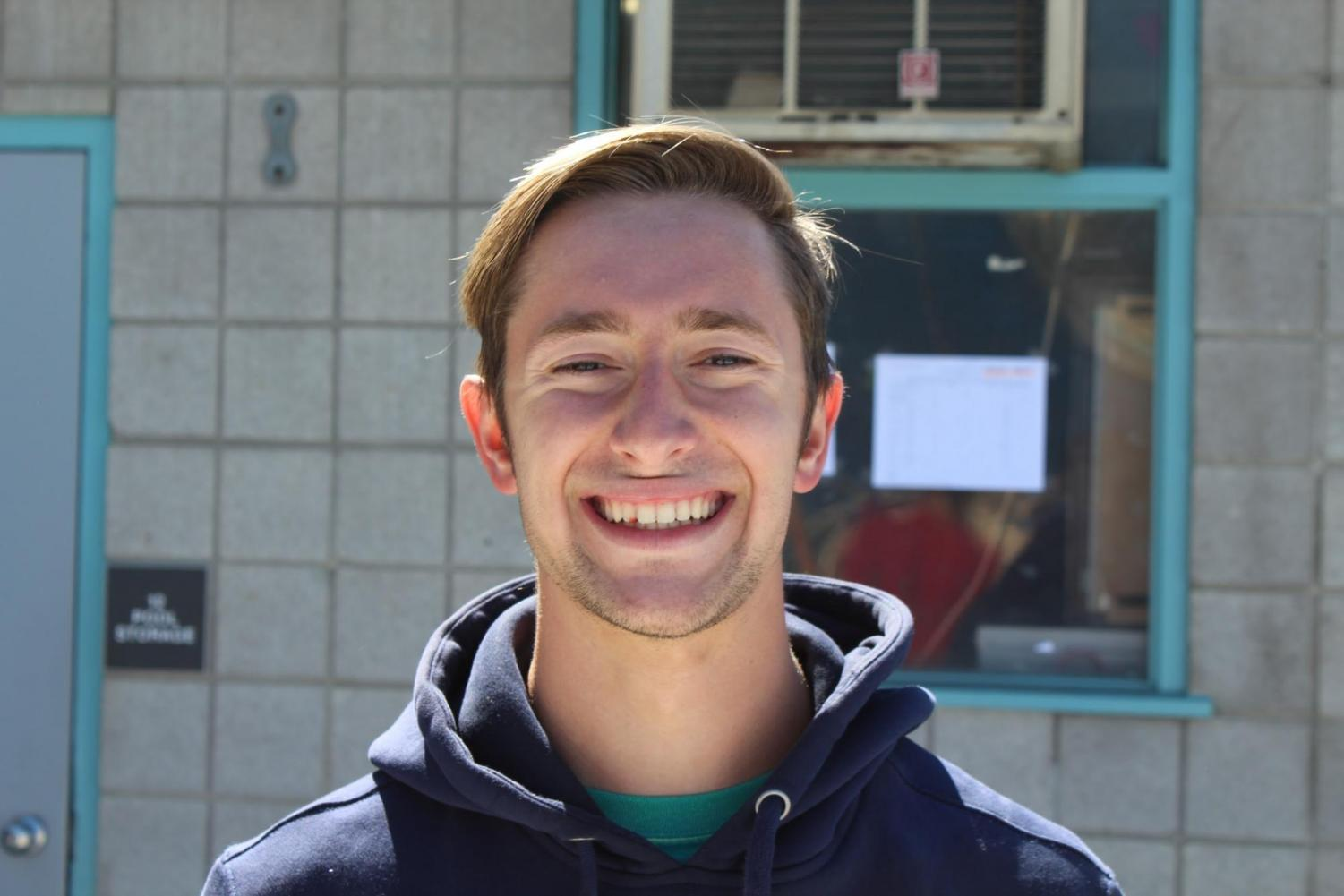 """I like how the class search is easy to find now."" Denver Noell, 19, Civil Engineering"