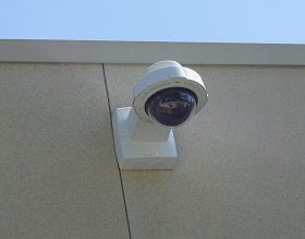 Camera Located On Hospital Rock Building.