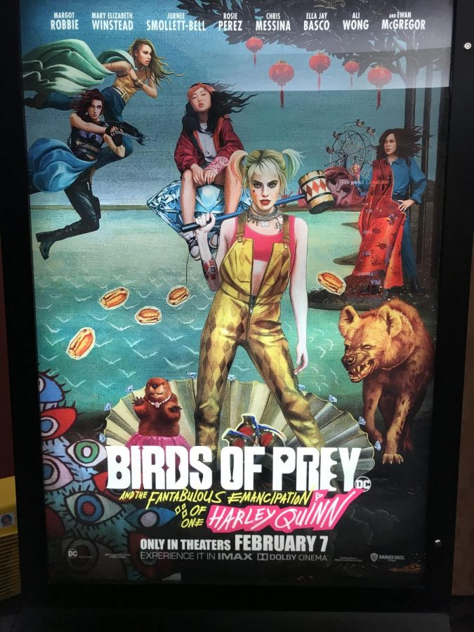 Birds of Prey Movie Poster, Feb. 11, 2020