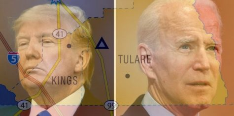 Trump and Biden battle for the central valley.