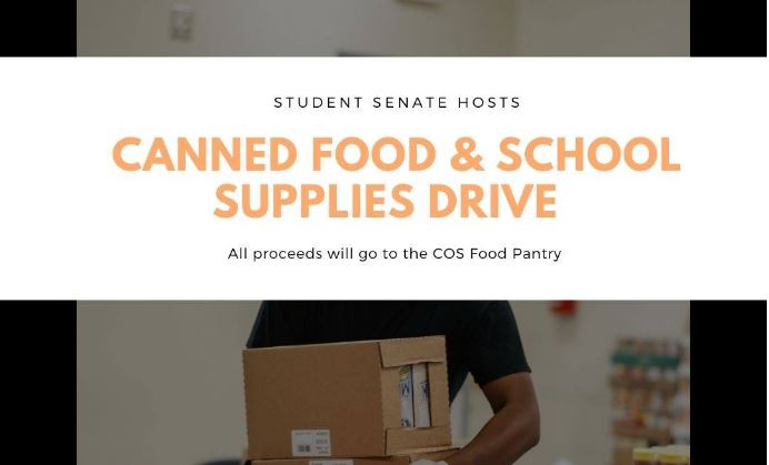 COS Canned Food & School Supply Drive