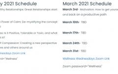 WW Schedule