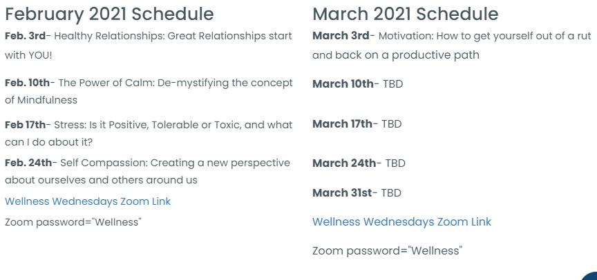 WW+Schedule