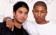 Chad Hugo (left) and Pharrell Williams (right) make up
