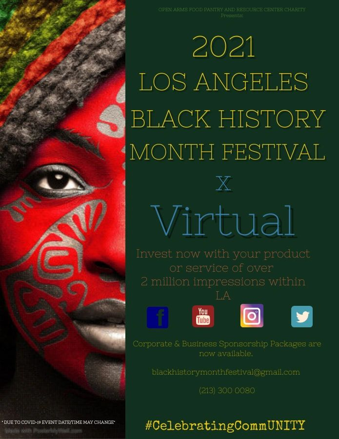 The Los Angeles Black History Month Event is Moving Online