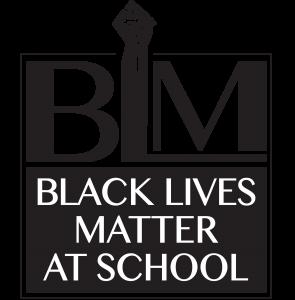 BLM in education logo.