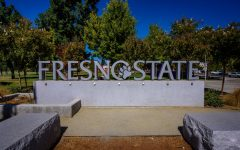 Fresno State welcome sign, FSU is currently COS feeder school for ADT program that is currently used.