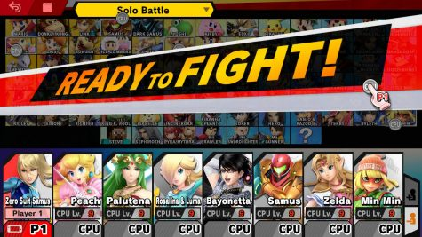 Women characters in the popular game Super Smash Brothers