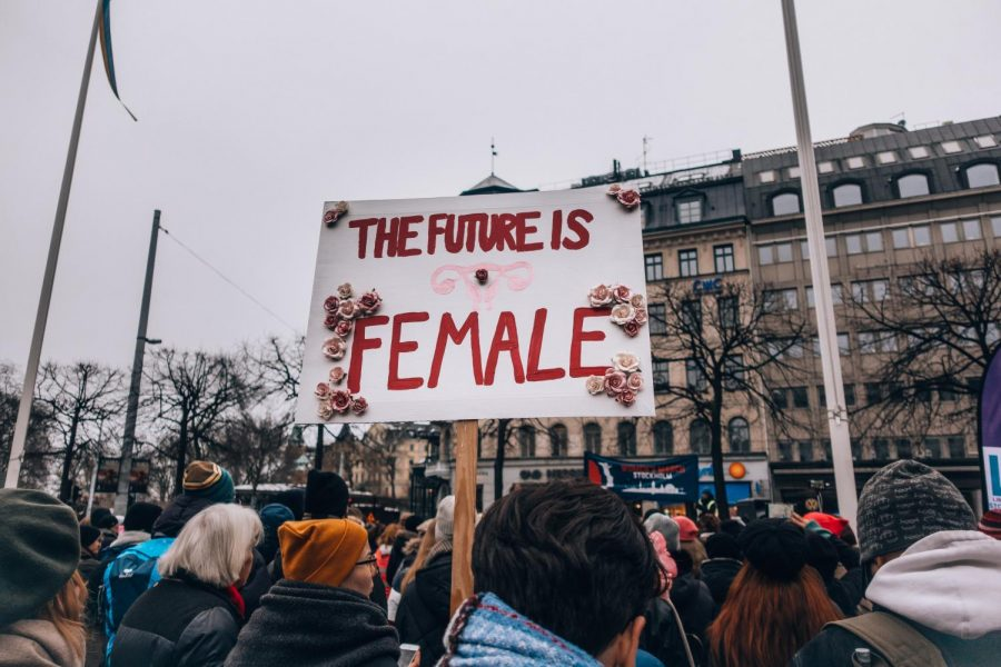 Protest+in+Stockholm%2C+Sweden%3A+The+future+is+female.