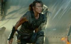 Milla Jovovich in a scene from 'Monster Hunter'