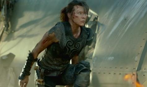 Milla Jovovich in a scene from