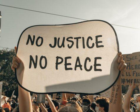 Protestors in Charlotte, North Carolina