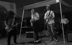 Pictured from left to right: Rodolfo Martinez, Isla Dudley, John Myers, and Jonah Vera.