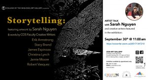 The Storytelling exhibition